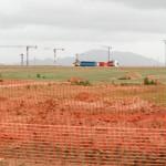 Cranes at Corvera Airport!
